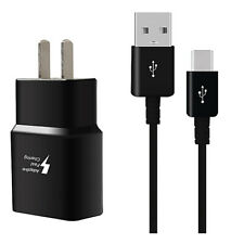 For ZTE Zmax Pro Z981 Adaptive Fast Rapid Home Wall Charger +Cable
