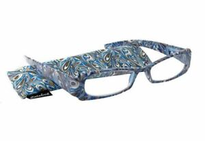 Calabria 747 Paisley Reading Glasses Matching Case Choose Color Red,Black,Blue&+