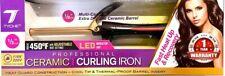 Tyche 1/2 inch barrel Professional Ceramic Curling Iron, TCI050