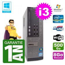PC Dell 790 SFF Intel I3-2120 RAM 8gb Disco 500gb DVD Wifi W7