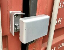 Bolt On Cargo Container Security Lock Box W/ Free Padlock,Bolts & Free Shipping-