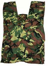 Caliber Sportsman's Apparel Xl Coveralls Green Brown Camo Cotton Zipper Front