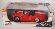 MAISTO 1:18 SHELBY SERIES 1 RED