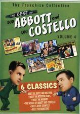 Abbott & Costello - The Best of Bud Abbott and Lou Costello: Volume 4 [New DVD]