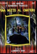UNA NOTTE AL CIMITERO - DVD (NUOVO SIGILLATO) LAMBERTO BAVA