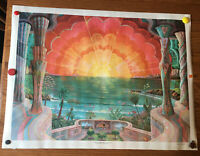 """THE RISE OF THE SPIRITUAL SUN vintage reproduction 1969 rolled poster 24"""" X 32"""""""