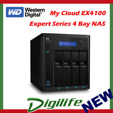 32tb WD Western Digital My Cloud Ex4100 Expert 4-bay Performance Storage NAS