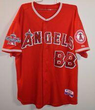 Majestic Los Angeles Angels Anaheim Bat Boy 2010 All Star Game Used Jersey 48 XL