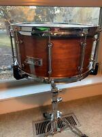 "SNARE Drum 14 x 8"" Custom Build, Teedrum hand made shell...amazing Quality!!!"