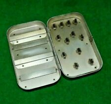 RICHARD WHEATLEY SILMALLOY SPINNERS POCKET BOX IN SUPER USED CONDITION