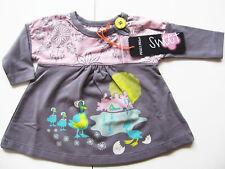 Kleid Gr.50 Phister & Philina NEU Tunika grau Enten Frühchen baby newborn