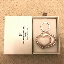 Love Heart Key chain double heart Frederique Constant Geneva live your passion