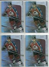 Ray Bourque 2000-01 UD NHL Legends Avalanche Supreme Milestones 4-cd Insert Lot