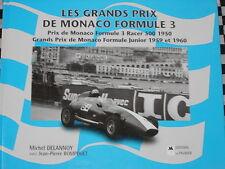 G.P MONACO RACER 500 1950 + FORMULE JUNIOR 1959-60 / NOMBREUSES PHOTOS FRANCAIS