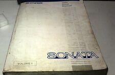 1996 HYUNDAI SONATA  Factory Workshop Manual