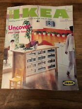 2001 IKEA catalog UNCOVER YOUR INNER HOME