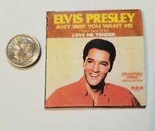 Miniature Record Album Barbie Gi Joe  Figure Playscale Elvis Presley Greatest