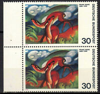 798 postfrisch Paar senkrecht Rand links BRD Bund Deutschland Jahrgang 1974