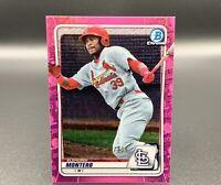 Elehuris Montero 101/199 Bowman Chrome Pink Refractor BCP-171 RC Cardinals MLB