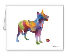 AUSTRALIAN CATTLE DOG Note Cards With Envelopes