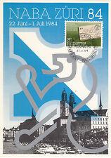 Naba Züri 84    Maxikarte Schweiz 1984