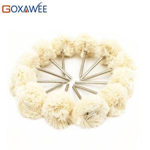 10Pcs double Cotton Thread Mounted Abrasive Brush Polishing Brush