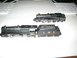 GRAHAM FARISH N GAUGE CLASS 4MT 2-6-4 80079 BR BLACK  and a 2-6-0 LMS Black Five