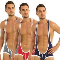 Sexy Borat Mankini Badeanzug Boxer Shorts Tanga Stretch Body Männer Kostüm Trunk