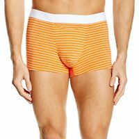 HOM Boxer HO1 MILES Blue Briefs Men's 359846 Trunk Short Comfort Striped