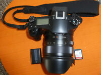 Sony Cyber-shot DSC-RX10 20.2MP Digital Camera - Black