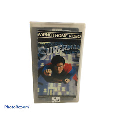 💛  Superman The Movie 1978 Christopher Reeve VHS VINTAGE CASSETTE TAPE MOVIE