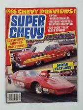 Super Chevy Nov 1984 - 1969 Camaro - 1966 Chevelle - El Camino SS - 1955 Chevy