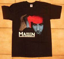 Official T shirt Marilyn Manson Noir famille américaine Unisexe Bande T-Shirt Toutes Les Tailles
