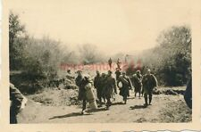 2 x Foto, 1./Pi.Brü.Batl.521, Gefangenentransport am Pruth 1941 (W)1559