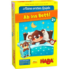 HABA Meine ersten Spiele Ab ins Bett Spiel Kinder ab 2 Jahre Lernspiel Spielzeug