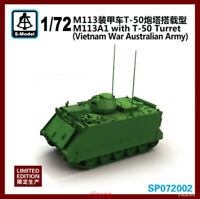 S-model SP072002 1/72 M113A1 with T-50 Turret (Vietnam War Australian Army) 1pcs