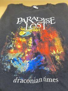 Paradise Lost Shirt - Gothic Rock Band - Size XXL - Black - Draconian Times