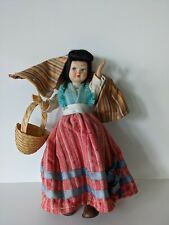 Vintage Souvenir International Ethnic Doll in National Costume