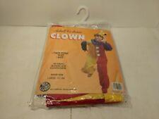Ben Cooper Adulte Halloween Costume Clown Taille Grand 42-44 h247