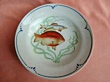 "Vintage 1979 Fitz & Floyd La Mer Fish Soup Bowl 9.25"" Discontinued"