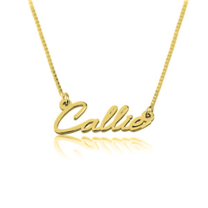 Dainty Personalized Name Necklace Unique style - Handcrafted Custom Pendant