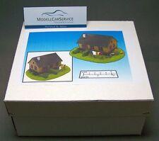 Modellbau-Gelände 1/87: H015006 Geländestück Haus mit Garten (Fertigmodell)