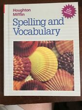 Houghton Mifflin Spelling and Vocabulary Hardback