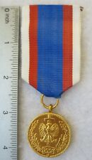 POLISH 30 YEAR NATIONAL SERVICE MEDAL Post WW2 Made in POLAND COLD WAR Vintage