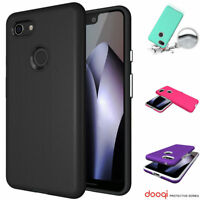 Shockproof Protective Hybrid Rubber Case Cover For Google Pixel 3 / Pixel 3 XL