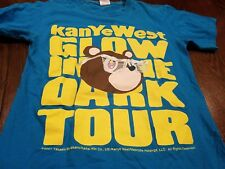 KANYE WEST Shirt S 2007 Glow In The Dark Tour Yeezy Takashi Murikami OOP HTF