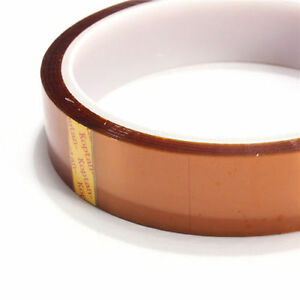 5mm 100ft Gold High Temperature Heat Resistant  Tape Polyimide BGA