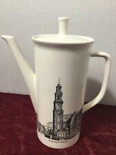 Villeroy & Boch Coffee Teapot 70s Montelbaanstoren and Westertoren Nutroma