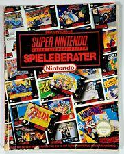 Original Nintendo Spieleberater SUPER NINTENDO dt. Mario/Streetfighter/Zelda