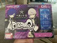 Nintendo 3DS XL LL Console Persona Q Shadow of the Labyrinth Velvet JAPAN REGION
